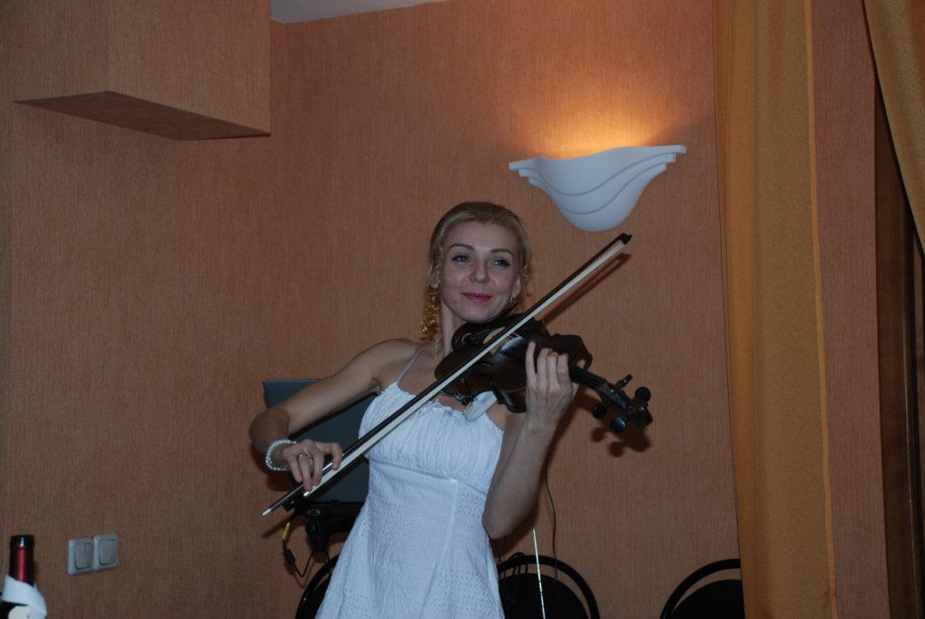 Anna Barsukova violinist